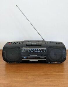 Panasonic Vintage Radio Cassette Player RX-FS420 Boom box Ghetto Blaster Retro