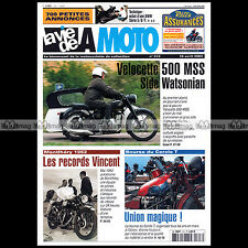 LA VIE DE LA MOTO LVM N°313 ★ SIDE-CAR VELOCETTE 500 MSS 1959 + WATSONIAN-SURREY