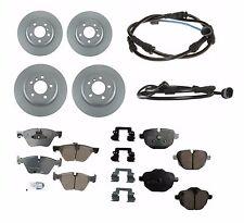 BMW F10 528i xDrive 2.0L 3.0L Brake Kit Set of 2 Front & 2 Rear Rotors & Pads