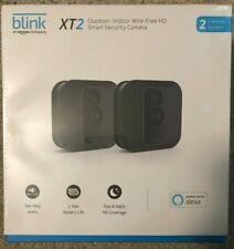 NEW BLINK XT2 2-CAMERA WIRELESS HD SMART SECURITY SYSTEM OUTDOOR/INDOOR KIT