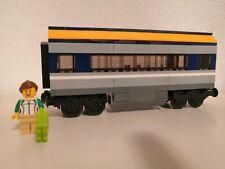 BLITZVERSAND Lego City RC Eisenbahn Passagierwaggon aus 60197 mit Minifigur neu