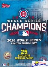 2016 Topps Chicago Cubs World Series CHAMPIONS BOX-Kris Bryant,Schwarber,Rizzo++