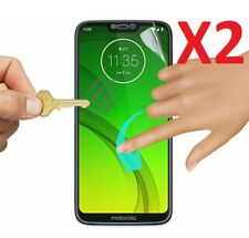 2 X For Motorola Moto G7 Power Full Coverage Ultra Clear Screen Protector TPU