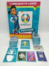 EURO EM 2020 Preview Album vuoto + set completo 568 figurine Panini