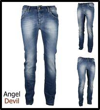 jeans pantaloni da donna angel devil elasticizzati vita alta slim 42 44 46 48 50