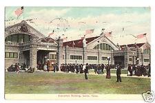1908 Texas State Fair, Dallas Exposition Building