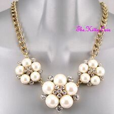 Pearl Cluster Costume Necklaces & Pendants