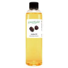 8 fl oz Jojoba Carrier Oil (100% Pure & Natural) Plastic Bottle