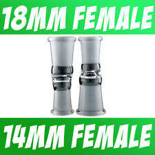 Scientific Lab Glass Adapter Fitting 18mm Female to 14mm Female