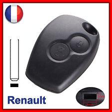 Coque Télécommande Plip Clé Boitier 2 Bouton Renault Clio Espace Laguna
