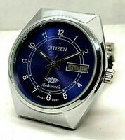 Vintage Citizen Automatic Movement No 8200 Gold Plated Japan Made Men's Watch