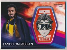 LANDO CALRISSIAN/DONALD GLOVER 2018 Topps Star Wars SOLO HAN SOLO PATCH