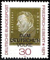 659 postfrisch BRD Bund Deutschland Briefmarke Jahrgang 1971
