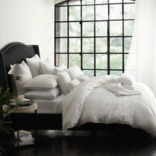 Private Collection Leyla Ivory Queen Bed Duvet Doona Quilt Cover Set RRP279.95
