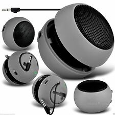 3.5mm Mini Capsule Travel Portable Rechargeable Speaker✔GREY