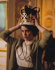 Claire Foy In-Person AUTHENTIC Autographed Photo COA SHA #93352