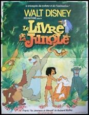 Affiche Pliée 40x60cm LE LIVRE DE LA JUNGLE (THE JUNGLE BOOK) Disney 1967 R