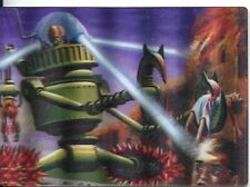 Mars Attacks Heritage Magic Of 3-Dimension Chase Card #4