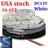 USA 5 Rolls UL 16.4FT 2835 Flexible White light LED Strip Bendable S Type 5M