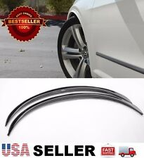 """Black 1"""" Arch Extension Aero Diffuser Protector Guard Fender Flares For Chevy"""