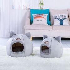 Pet House Cat Dog Thicken Sleep Bed Nest Puppy Warm Cushion Semi-closed Kennel