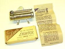 IMCO Dandy Lighter (Julius Franz maître) - Tempête Briquet-Neuf dans sa boîte - 1947-U.S.A.