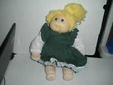 "16"" Original Cabbage Patch Doll By M.N. Thomas 1984"