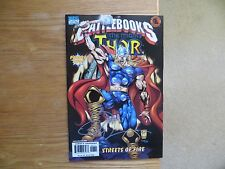 1998 MARVEL COMICS BATTLEBOOKS THOR SIGNED BY BILLY TUCCI, WITH POA
