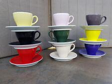 DIBBERN SOLID COLOR Espressotasse mit Unterteller - diverse Farben --Orginalware