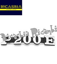 2947 - TARGHETTA COFANO LATERALE MOTORE VESPA PX PE 200 - BICASBIA CERIGNOLA