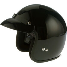VIPER RS-04 OPEN FACE SCOOTER MOTORBIKE MOTORCYCLE MOD RETRO HELMET GLOSS BLACK