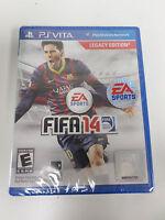 PS Vita FIFA 14 Legacy Edition (Sony PlayStation Vita) NEW SEALED Messi cover