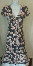 Debenhams Rocha John Rocha Floral Summer Dress Size 8 Great Condition