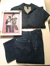 Levis Red Suit Jeans+Jacke für Männer selten, special Edition, W32 /L32 L