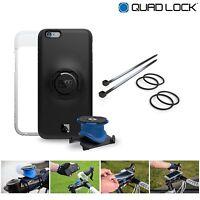 Quad Lock Bike Kit iPhone 7 / 8 inc Phone Case + Bike Mount + Weatherproof Cover