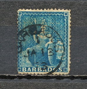 (NNAW 013) BARBADOS 1870 USED