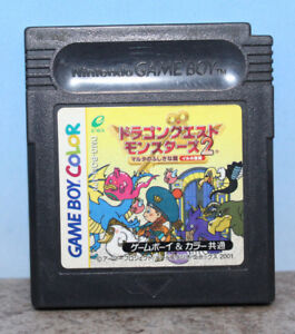 Dragon Quest Warrior Monsters 2 Iru Gameboy Color Japanese Import Cartridge Only
