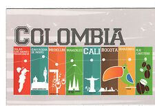 "Refrigerator Magnet Colombia Colors 5.5""x3.5"" - Great Item - Iman de Nevera"