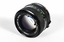 Canon 50mm F/1.4 FD Mount Lens *AS/IS*