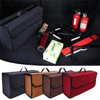 1pc Folding Car Trunk Felt Storage Box Organizer Container Bag Tool Box Case