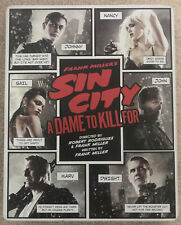 Sin City A Dame To Kill For (Dvd, Blu-Ray & Blu-Ray 3D) Steelbook