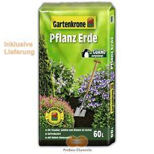60 L Gartenkrone Pflanzerde mit Guano Humus Blumenerde Gärtner Qualität Dünger