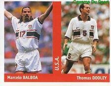 272 MARCELO BALBOA - THOMAS DOOLEY USA FIGURINE STICKER WORLD CUP FRANCE 98 DS