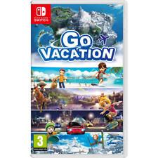 Juego Nintendo switch Go Vacation