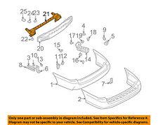 SUBARU OEM 00-04 Outback Rear Bumper-Impact Reinforcement Bar Rebar 57711AE23A
