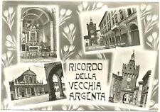 RICORDO DELLA VECCHIA ARGENTA - VEDUTINE (FERRARA) 1967
