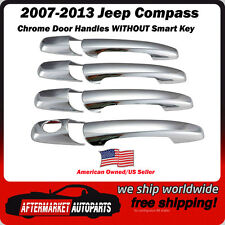 2007-2013 Jeep Compass Chrome Trim Door Handle Covers Ships in USA Fast