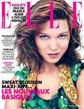 ELLE France February 2014 LEA SEYDOUX Langley Fox ISABELLE HUPPERT @NEW@