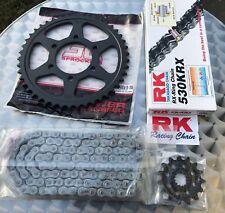RK 530 KRX Jeu de chaîne Suzuki GSF 1200 BANDIT, 15-45-110, Gsf1200, Kit chaîne