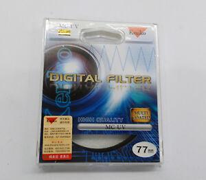 77mm Kenko - Tokina  Digital Filter Multi-coated UV Filter 77 mm MC UV
